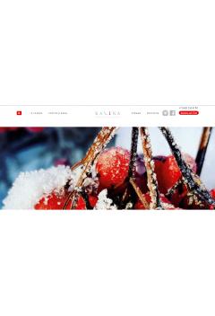 Сайт для салона красоты KAL1NA